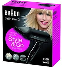 Braun Hårtork Satin Hair 3 HD350