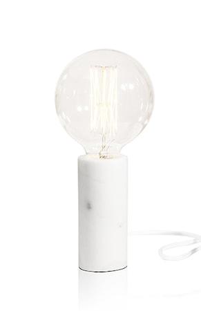 Bordslampa Marble Vit