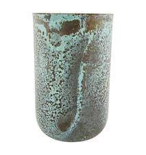 Vas Style Ø 9x14 cm - Grön