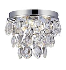 Isobel Loftlampe 3L Chrome/Briliant
