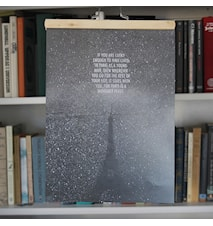 Hemingway Paris poster