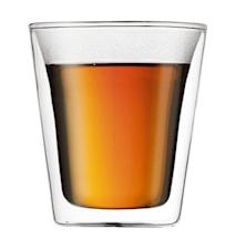 Dubbelväggade Glas 2 st 20 cl