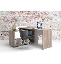 Function skrivbord med hörn