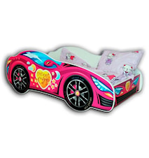 Racing car bilsäng - Rosa