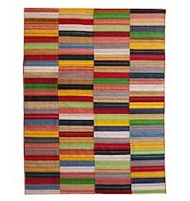 Global Gipsy Kilim Handvävd - multifärgad