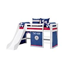 Basic slide loftsäng – Aeroplane sängpaket
