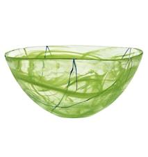 Contrast Lime Skål Ø 35 cm