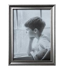 Tavelram Glas/Silver 24x18 cm