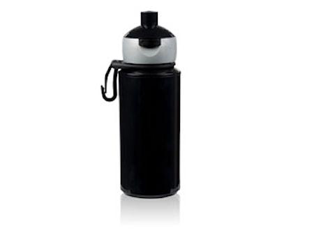 Drickflaska pop-up Svart