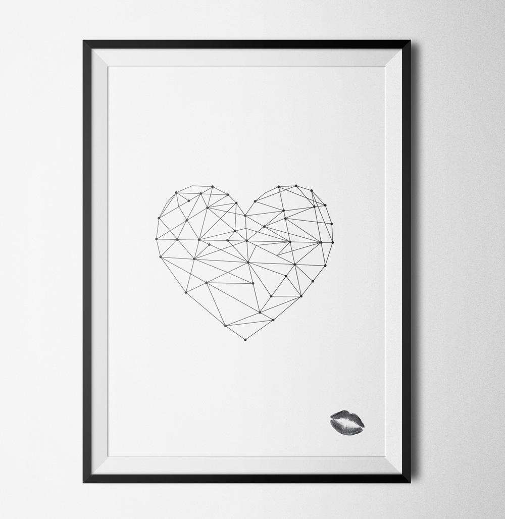 Heart poster - 40x60