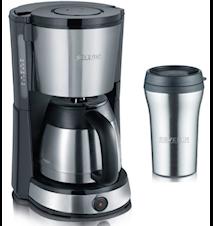 Kaffebrygger med Termokande og Termokrus