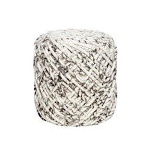 Pouf hand-knitted sittpuff