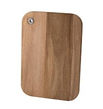 Skärbräda akacia trä fyrkantig 32*22 cm
