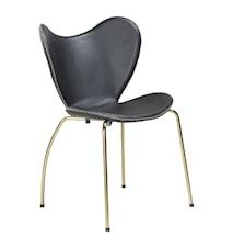 Butterfly stol - Svart/guld