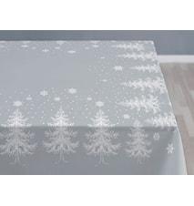 Bordsduk 150x370 Winterland grå