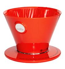 Kaffebryggare Pour Over Röd