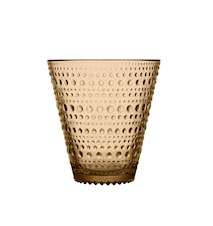 Kastehelmi drikkeglass 30 cl ørkensand 2-pakk