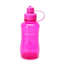 Vattenflaska Rosa 1 L