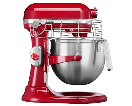 Professional køkkenmaskine rød 6,9 liter