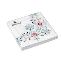Swedish Grace Winter servetter 33x33 cm 20-pack