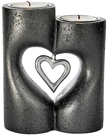 Bild av PR Home Love Stående Ljusstake Svart 13 cm