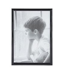 Tavelram Svart/glas 30x21 cm