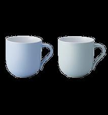 Emma kopp, stor, 2 st - blå