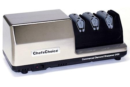 Commercial Diamond Sharpener CC 2100 Knivslip 3 steg med löstagbar modul