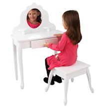 Medium vanity & stool