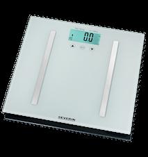 Personvåg Glas med BMI-räknare och Kroppsanalys