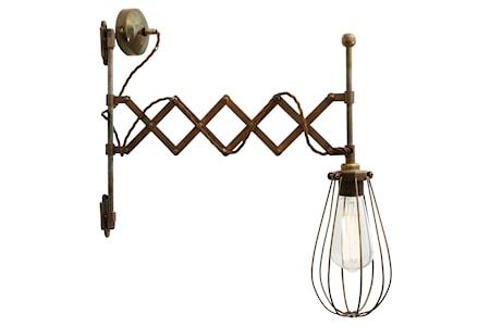Bild av Mullan Lighting Calis scissor arm vägglampa