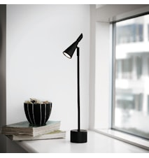 Neptun bordslampa - Svart LED