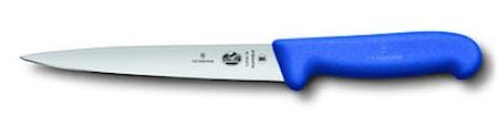 Filékniv flexibel 18 cm Fibrox blå