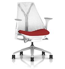 Sayl kontorsstol - Klädd sits