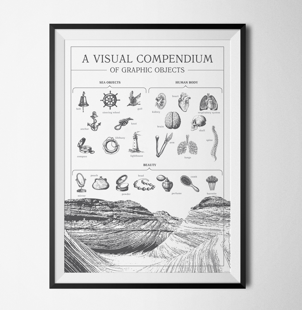 A visual compendium to objects poster