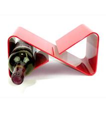 Infinitely red- Påbyggnadsbart vinställ för 3 flaskor