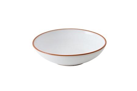 Djup tallrik Glaserad Terracotta ø18,5 cm