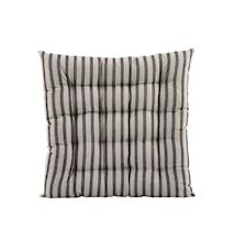 Sittdyna Stripe by stripe 50x50 cm - Svart/Grå
