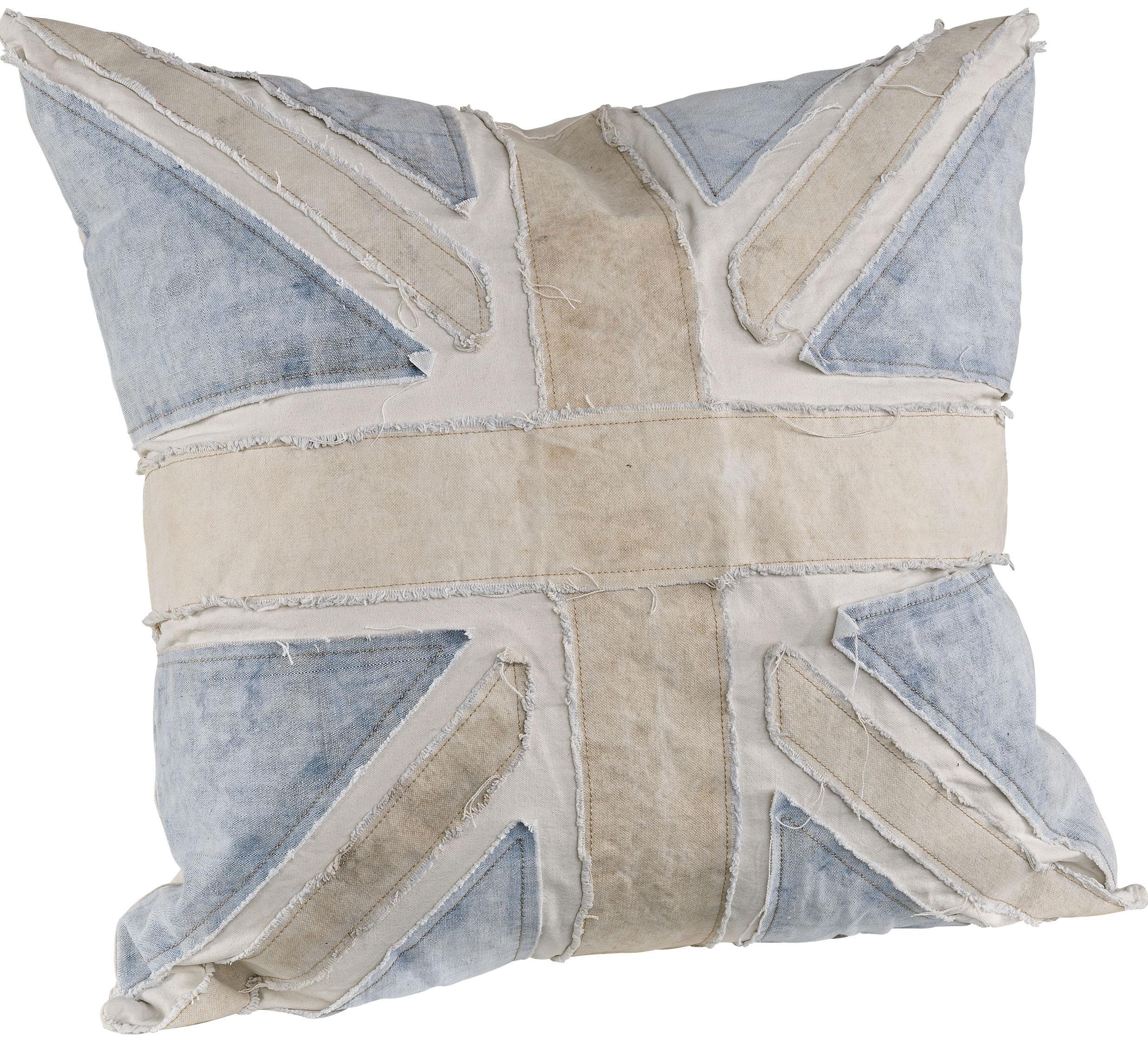 Blue Armytent Kuddfodral + innerkudde