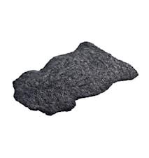 Aussie Korthårig fårskinnsfäll ca. 60x100 cm - Charcoal