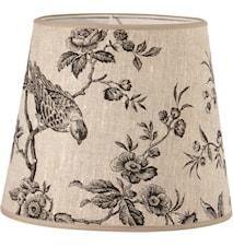 Mia L Lampskärm Black Bird 20 cm