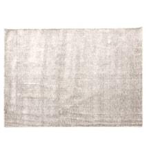 Bamboo handvävd matta – Ljusgrå