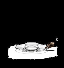 DWL Blockljusstake, klar, 17 cm