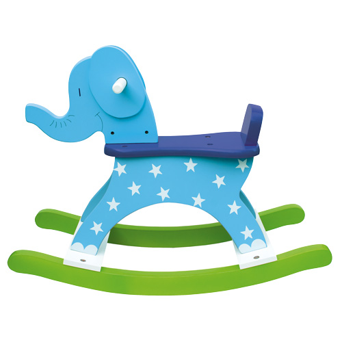 Jabadabado Gungdjur Elefant Blå