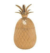 Ananas Mässing 21 cm