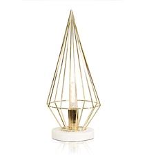 Bordlampe Keops Messing