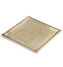 Bricka fyrkantig - silver