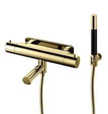 EVM026-160 Dusj- och badekarbatteri Honey Gold