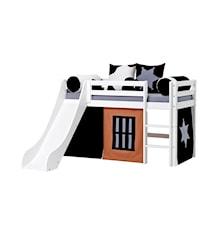 Basic slide loftsäng – Cowboy sängpaket