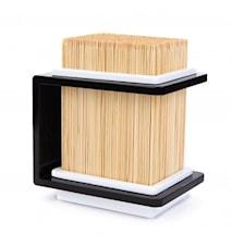 Knivblock Bambu Svart